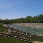 Tailwaters from Cave Run Dam